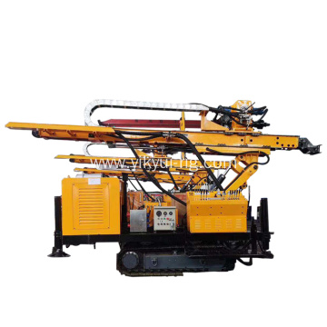 130m Truck-mounted Hydraulic Crawler Drilling Rig